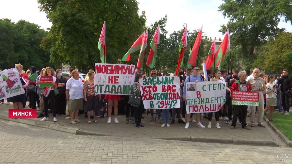 Белорусское гражданское общество выступило против вмешательства Польши во внутренние дела Минска