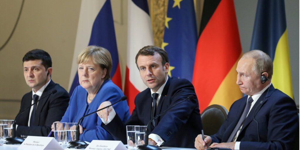 Украина уходит от выполнения Минских соглашений под патронатом США