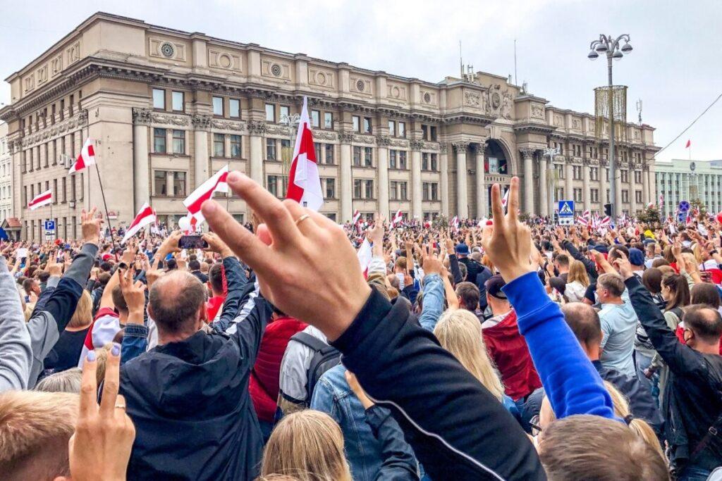 Оппозиция Беларуси призывает к новым массовым протестам и ужесточению санкций Евросоюза