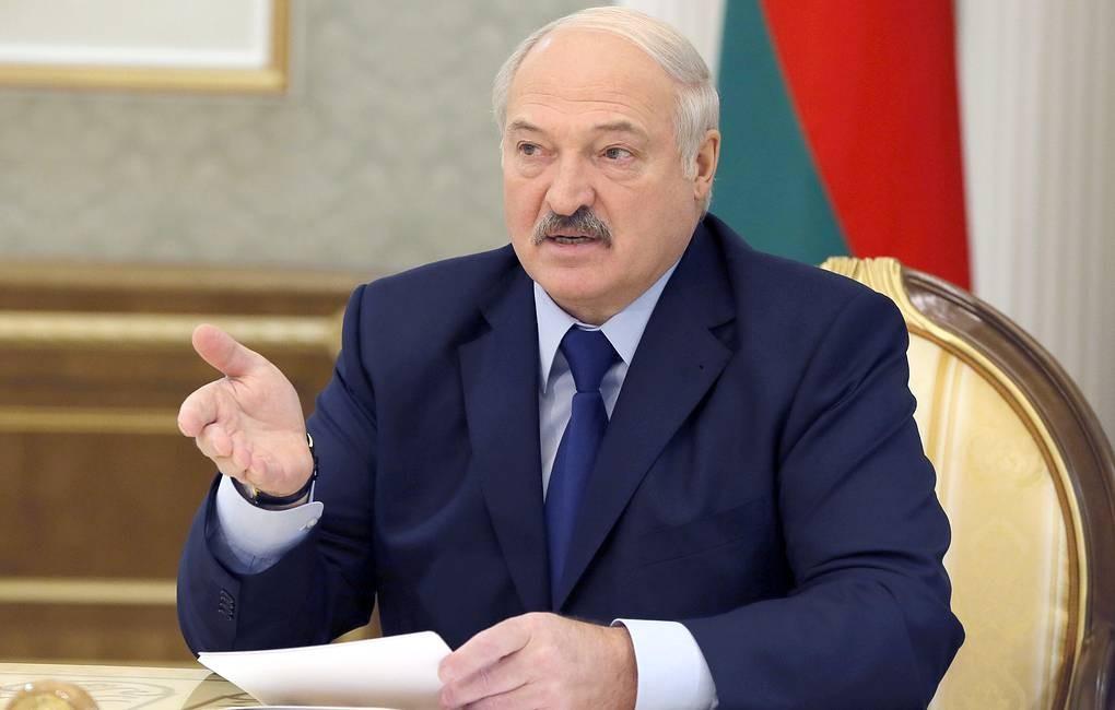 Лукашенко: За провокациями в Беларуси стоят США