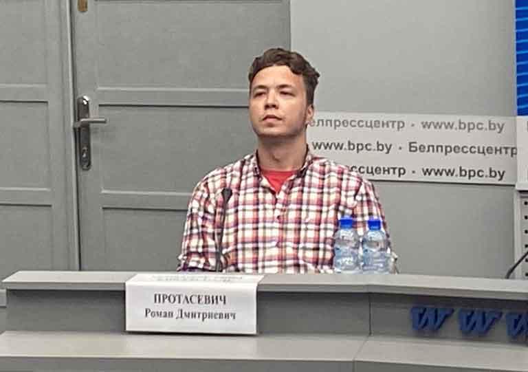 Брифинг с участием Протасевича сорвал маски с западных дипломатов и журналистов
