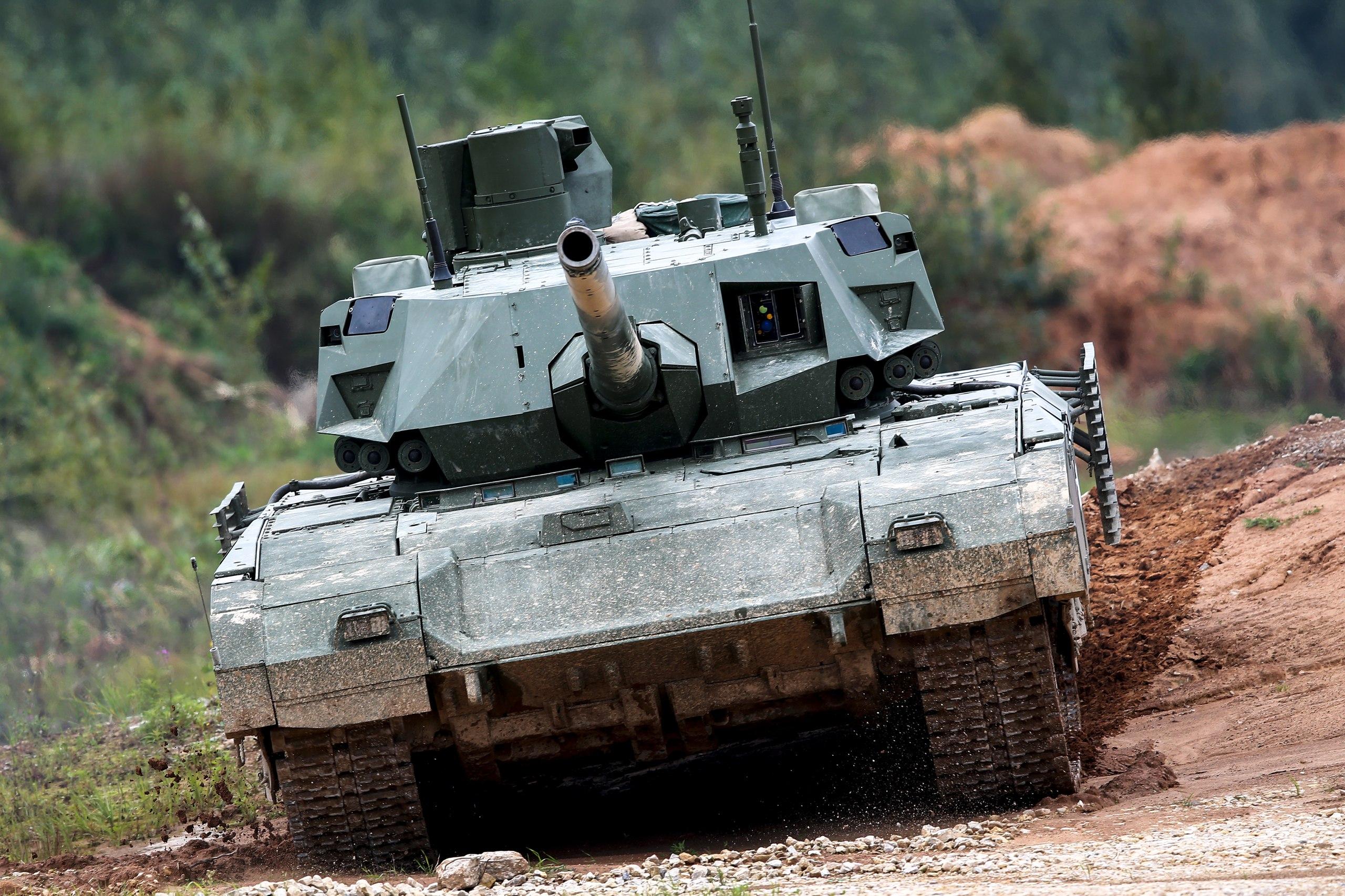 Американское издание оценило мощь российских танков