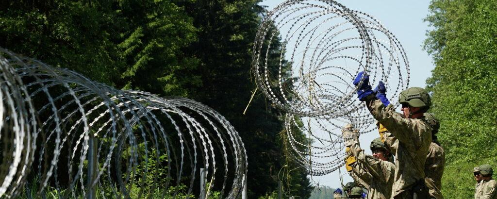 """Строительство """"великой литовской стены"""" не сможет решить миграционный кризис"""