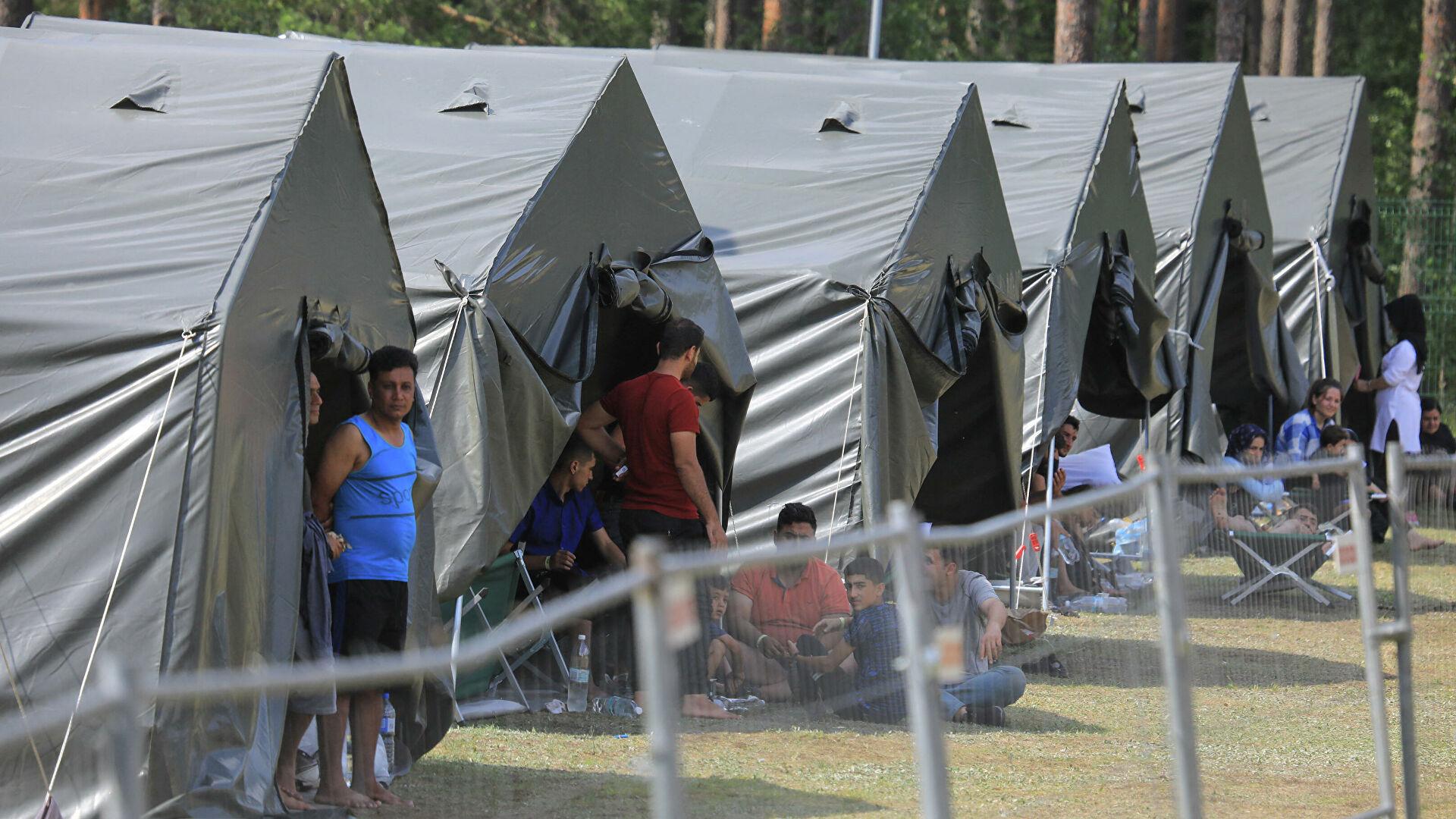 Польша направила гуманитарную помощь Литве в связи с наплывом нелегальных мигрантов