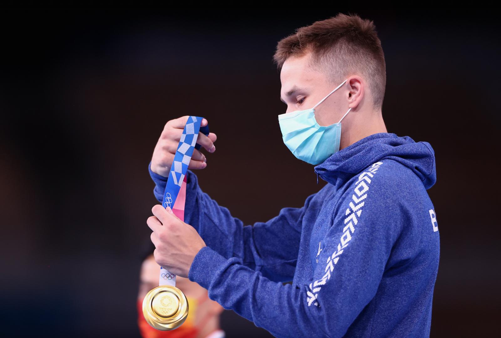 У Беларуси первая золотая медаль на Олимпиаде в Токио