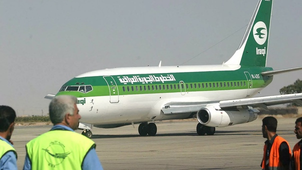 Самолет Iraqi Airways с гражданами Ирака покинул Минск