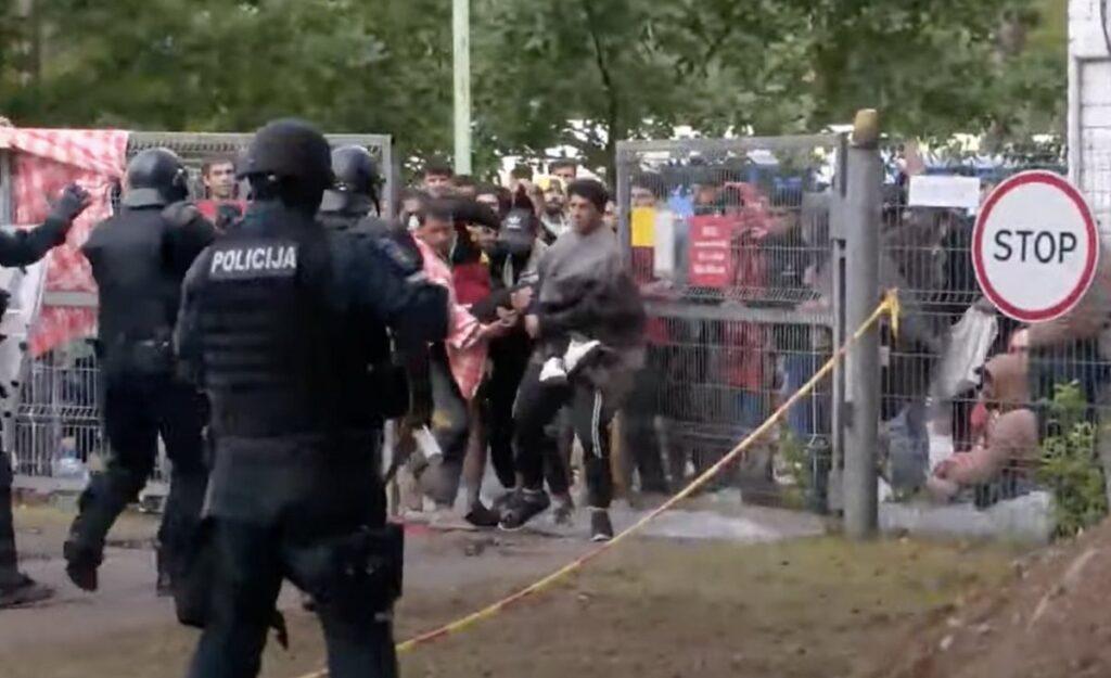 МВД Литвы разрешило применять силу к мигрантам, отлов с собаками и принудительную депортацию