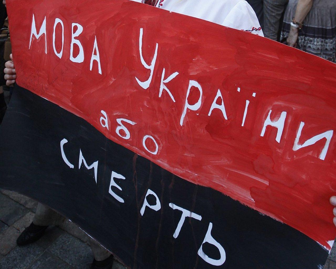 Украина призывает уезжать из страны всех, кто не согласен с запретом русского языка