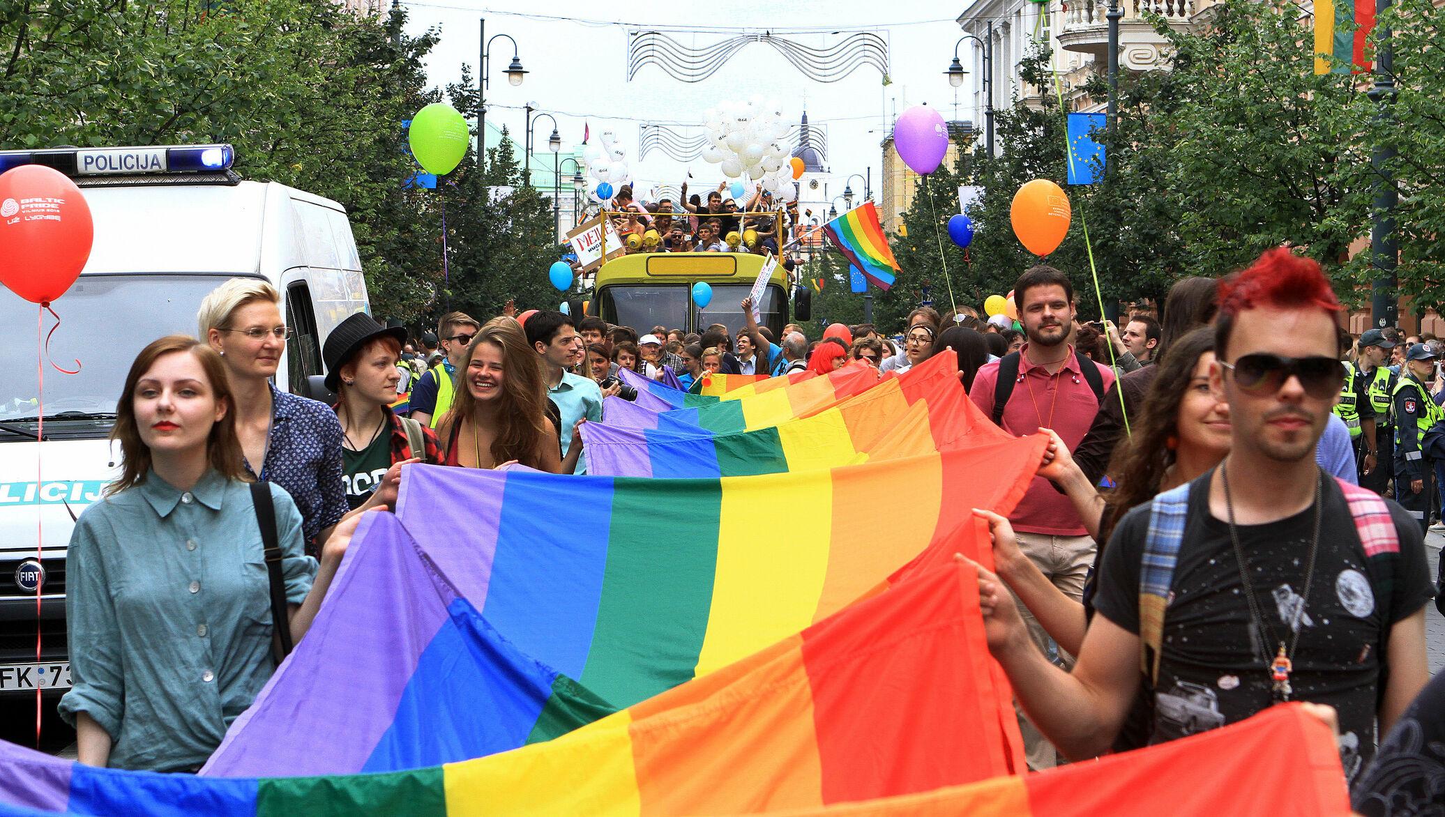 Европейская солидарность. В Литве задержали 13 противников марша ЛГБТ