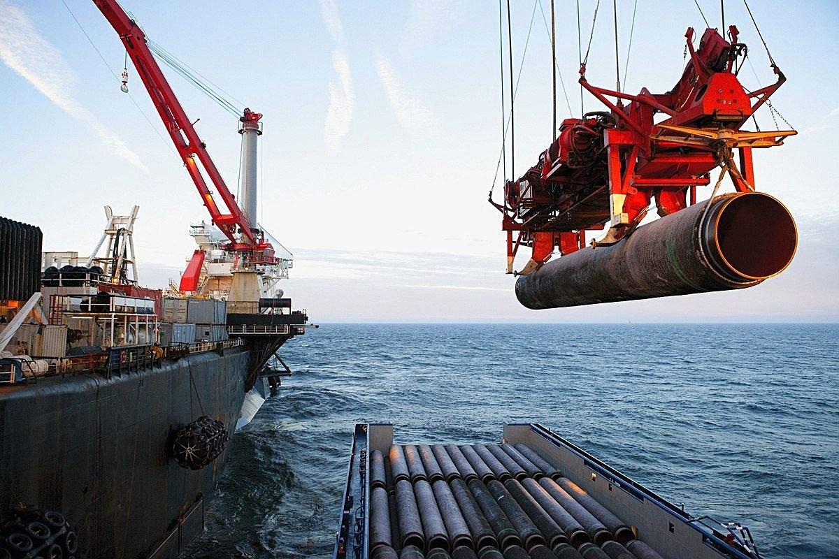 """В Газпроме заявили о завершении строительства """"Северного потока - 2"""""""