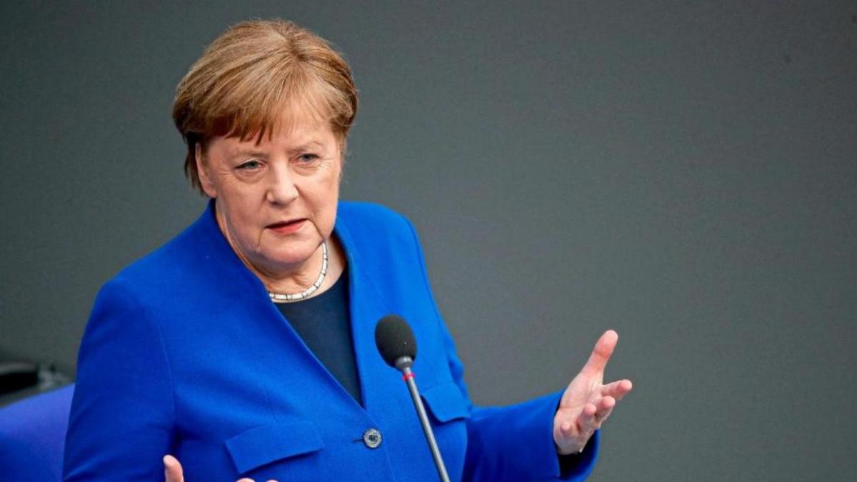 Меркель в последний раз выступила в Бундестаге