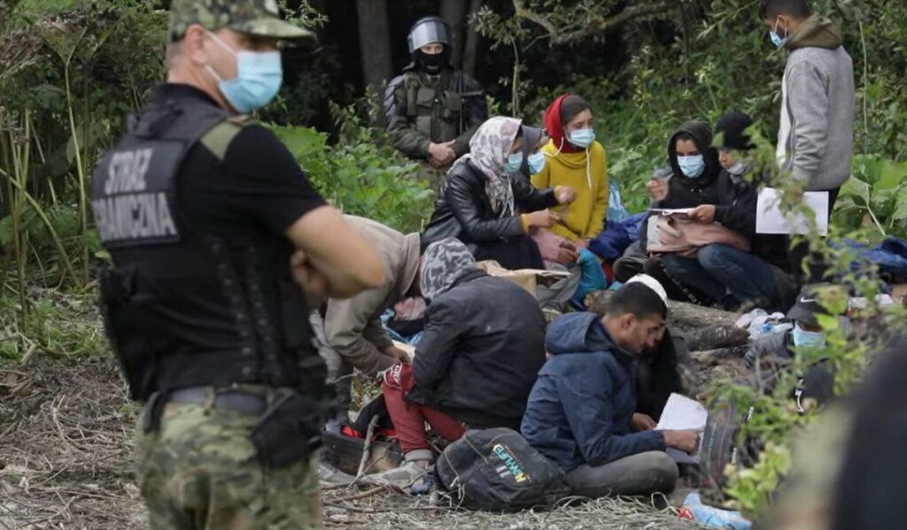 Польша оказалась беспомощна перед потоками беженцев на белорусской границе