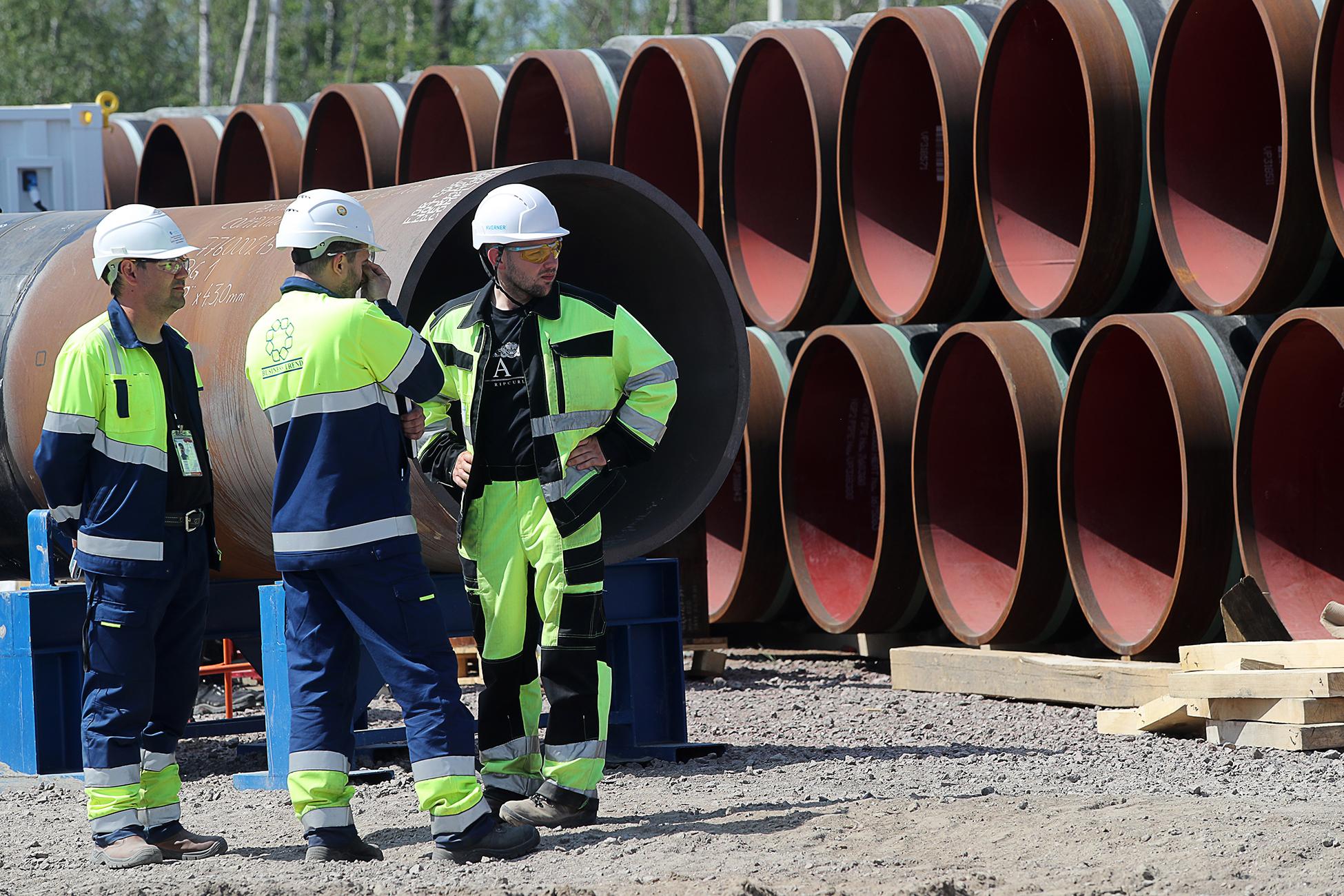Немецкие запасы газа не успеют пополнить перед отопительным сезоном